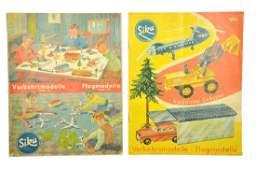 SIKU  Konvolut 2 Preislisten 1961 und 1962