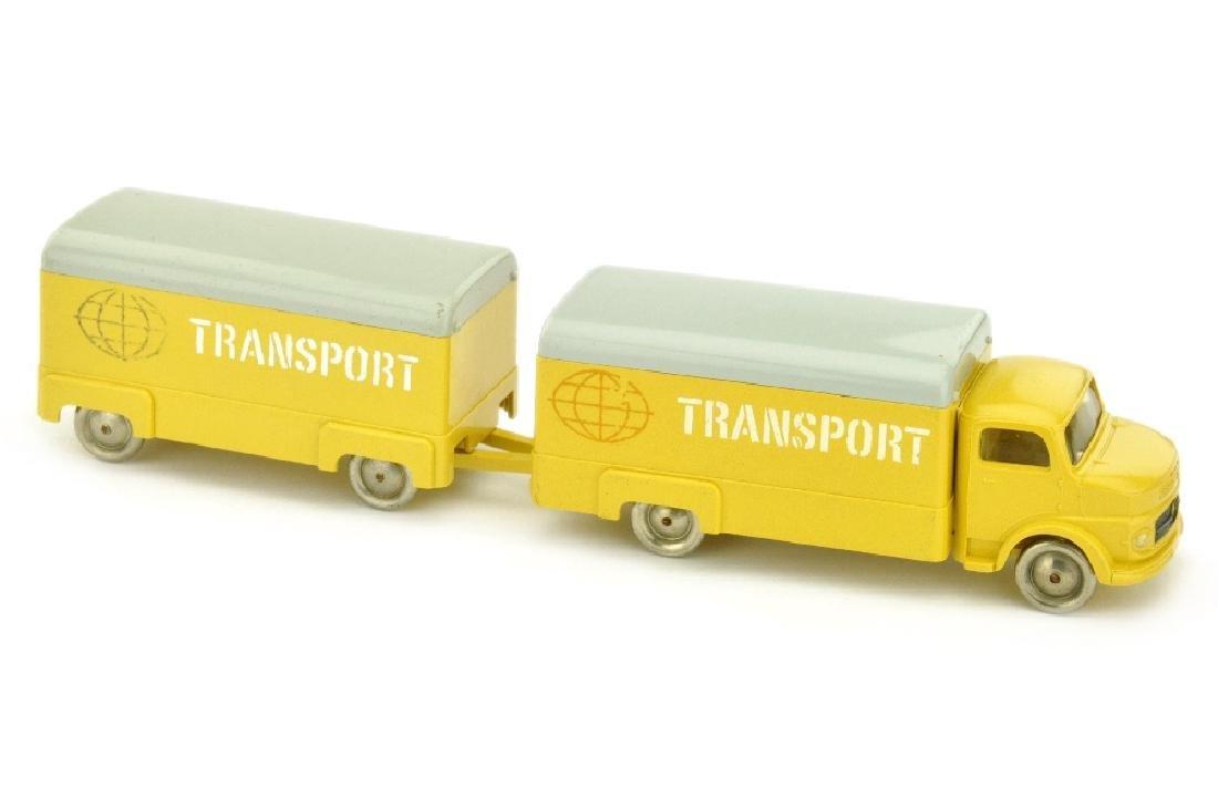 Lego - Koffer-Lastzug MB 1413, ockergelb