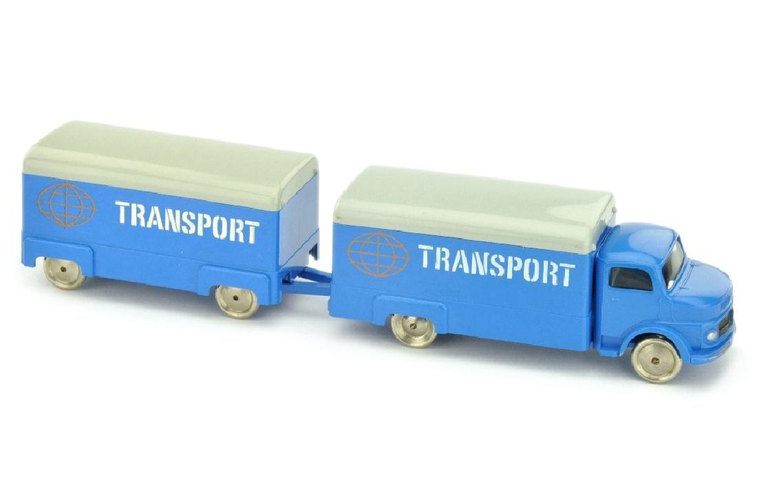Lego - Koffer-Lastzug MB 1413, himmelblau