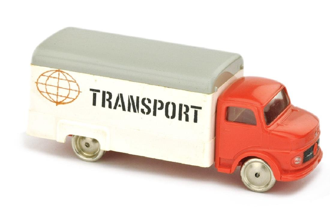 Lego - Koffer-LKW MB 1413, rot/weiss