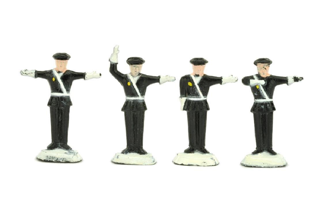 Lego - Konvolut 4 Verkehrspolizisten