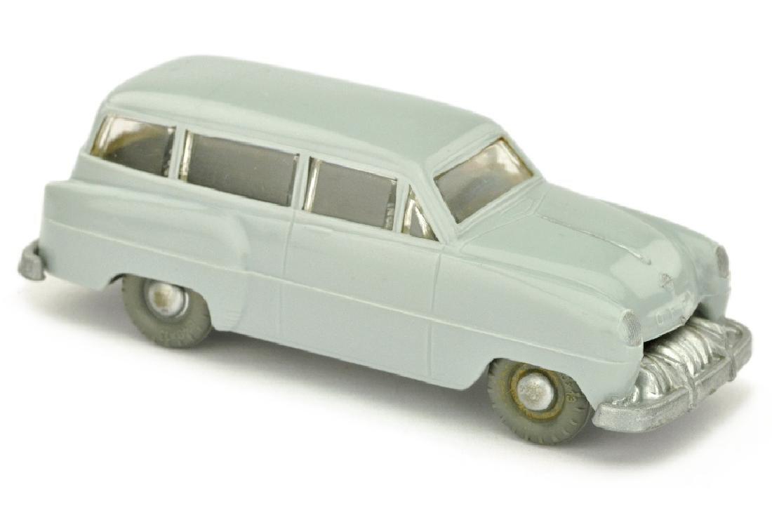 SIKU - (V 9) Opel Caravan, silbergrau