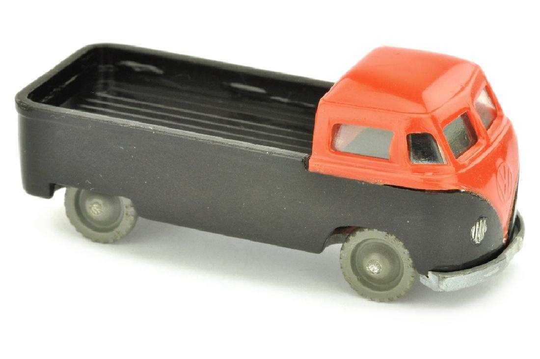 SIKU - (V 15) VW Pritsche, orangerot/schwarz