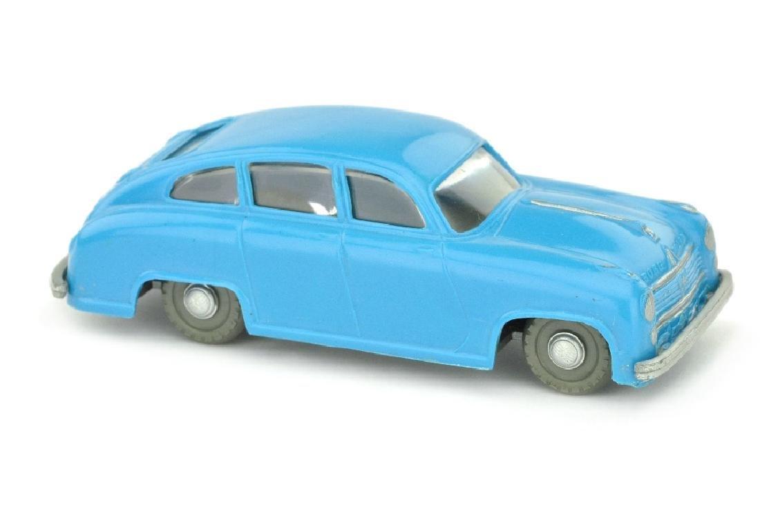 SIKU - (V 27) Borgward 2400, adriablau (2.Wahl)