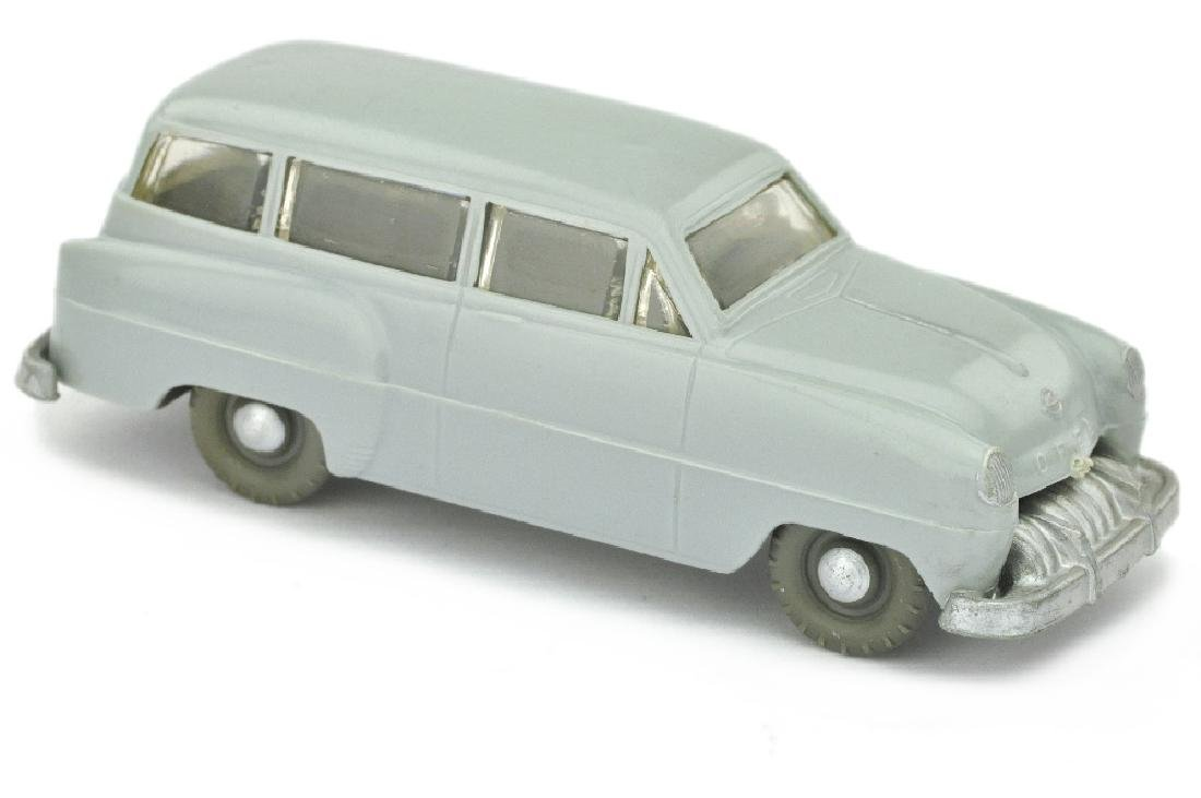 SIKU - (V 9) Opel Caravan 1953, silbergrau