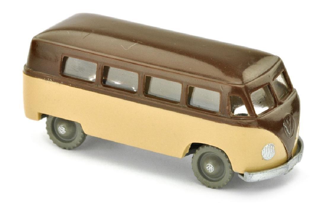SIKU - (V 16) VW Kombi, schokobraun/beige