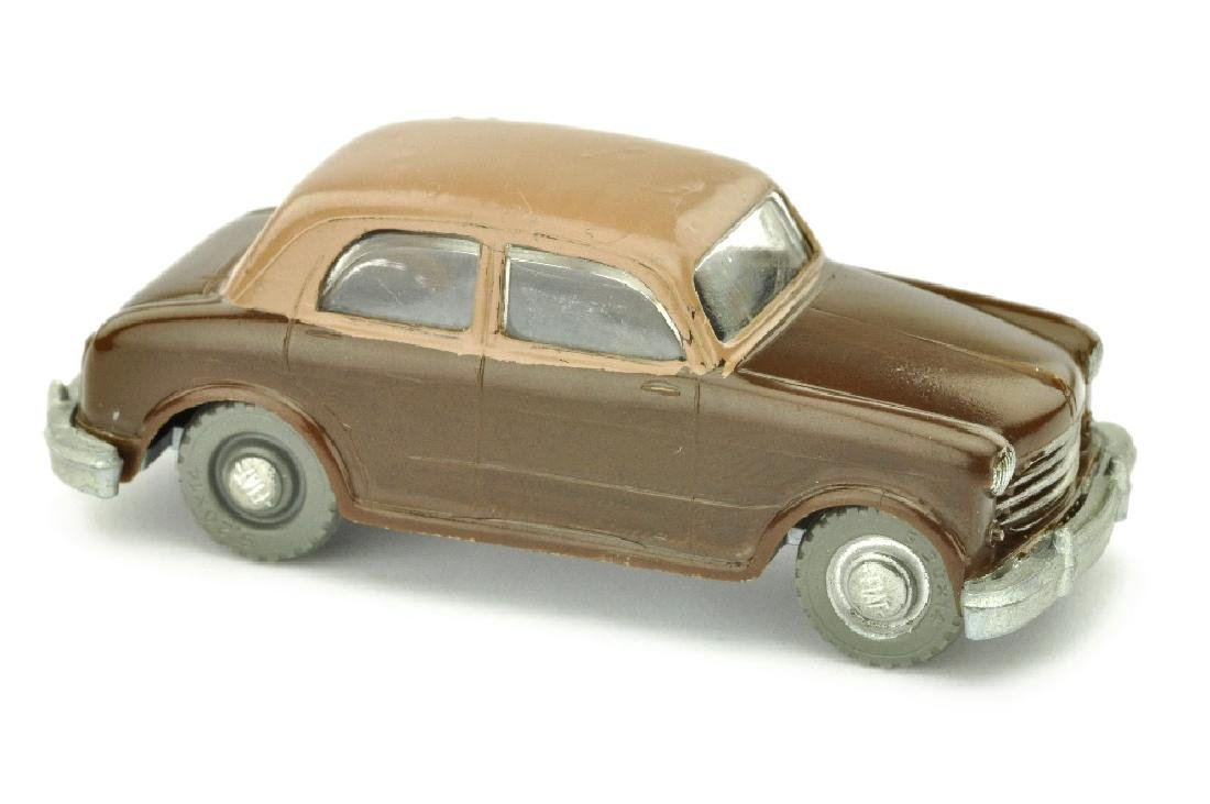 SIKU - (V 34) NSU-Fiat, schokobraun/braun (2.W.)