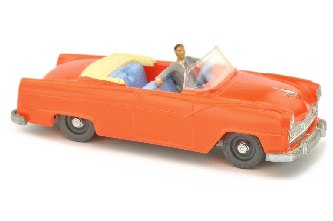 SIKU - (V 77) Ford Fairlane-Sunliner, orangerot