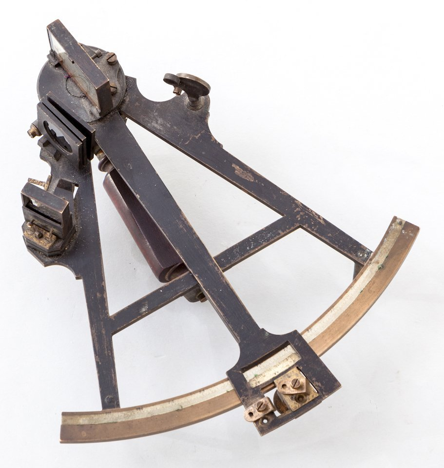 8: 19th Century French Sextant