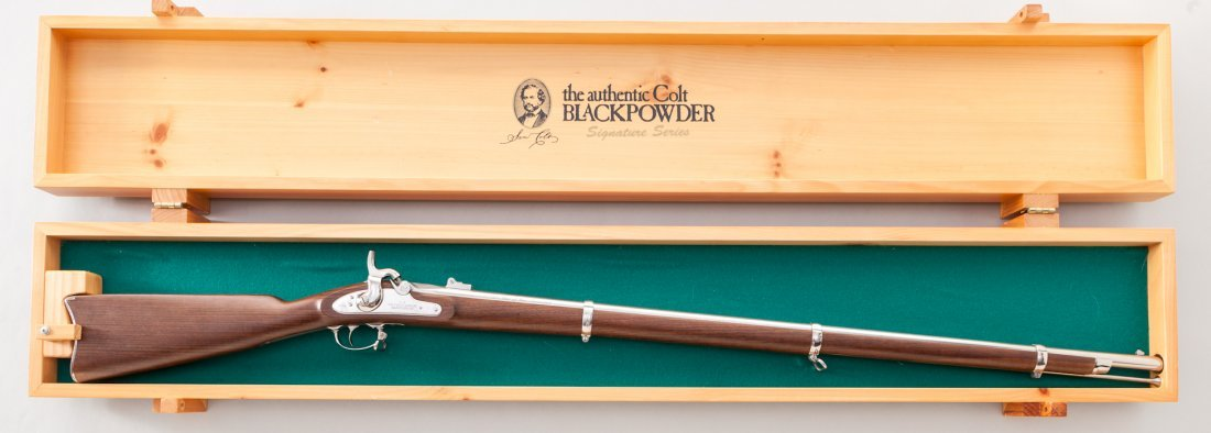 141: Colt Black Powder Serial Model 1861 Musket