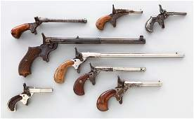 155: Lot of 8 Cyclist or Sparrow Pistols