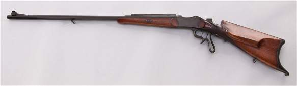 200: Unmarked German Falling Block Schutzen Rifle