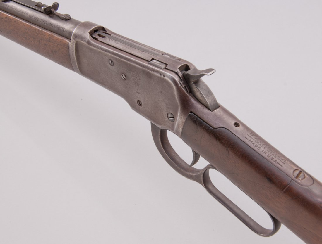 272: Winchester Model 53 Lever Action Rifle - 3