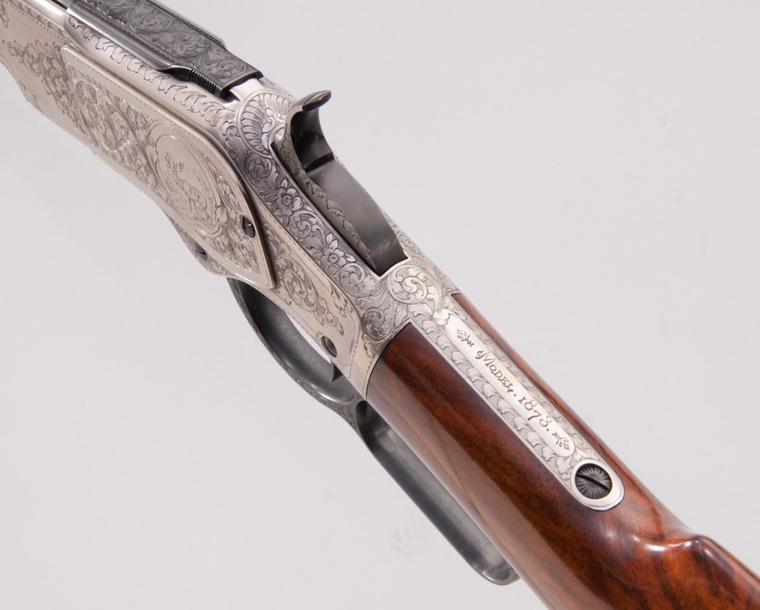 458: Uberti Model 1873 1 of 1000 Lever Action Rifle - 4
