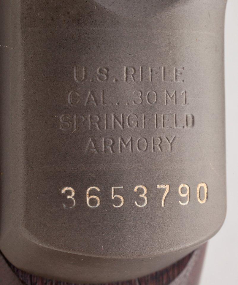 668: Correct & Original M1C Garand Sniper Rifle - 2