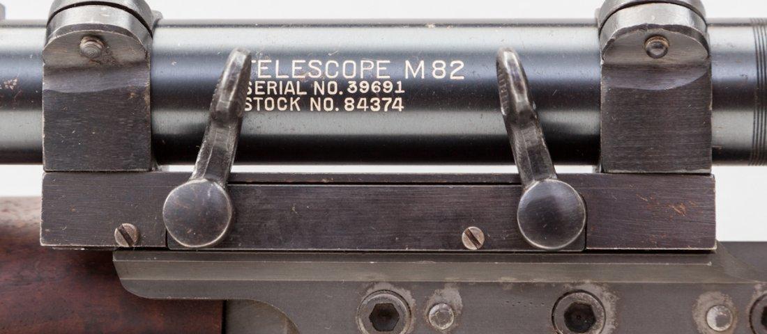 668: Correct & Original M1C Garand Sniper Rifle - 3