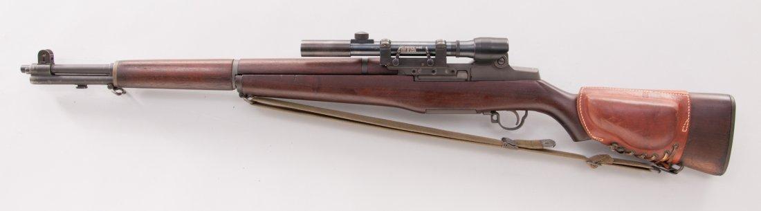 668: Correct & Original M1C Garand Sniper Rifle - 5