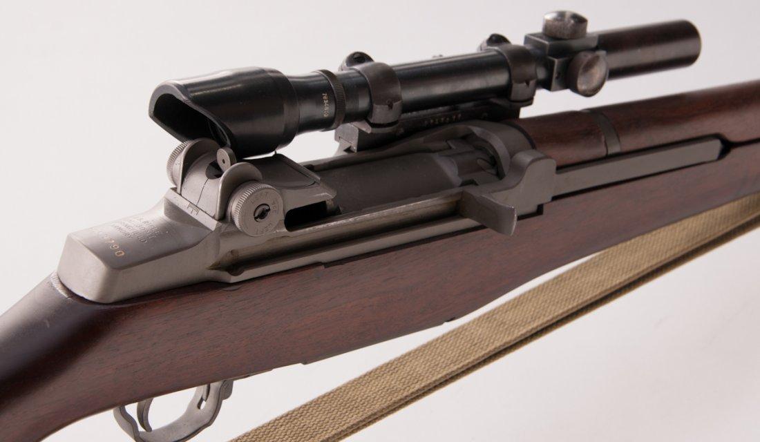 668: Correct & Original M1C Garand Sniper Rifle - 6