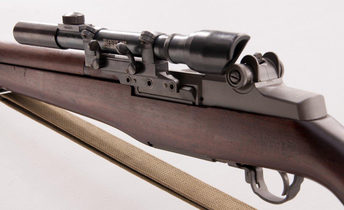 668: Correct & Original M1C Garand Sniper Rifle - 7