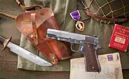 699: Rare & Desirable Singer Mfg'd 1911-A1 Pistol