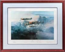 705 Robert Taylor Print entitled JG52