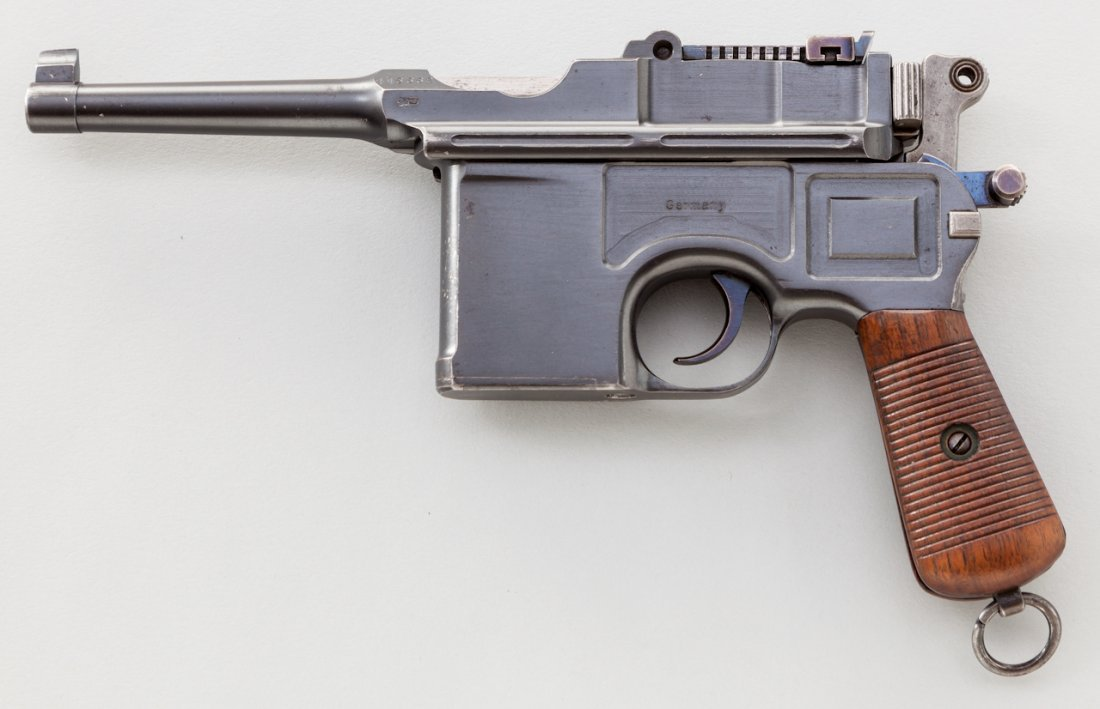 711: Early Post-War Bolo C96 Mauser Pistol