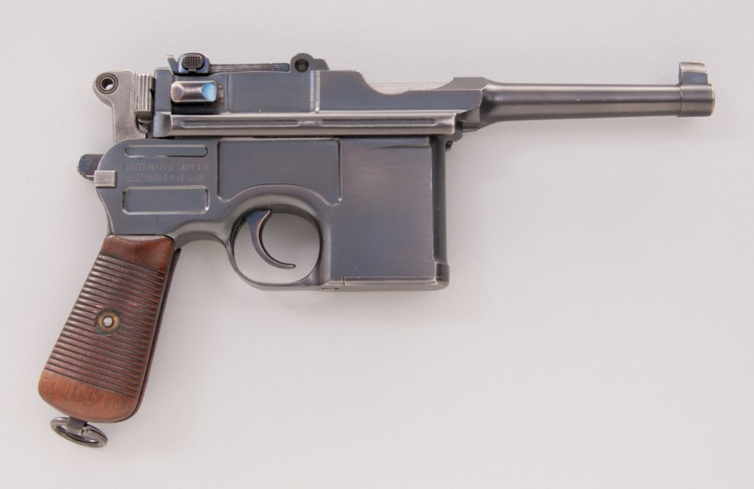 711: Early Post-War Bolo C96 Mauser Pistol - 5