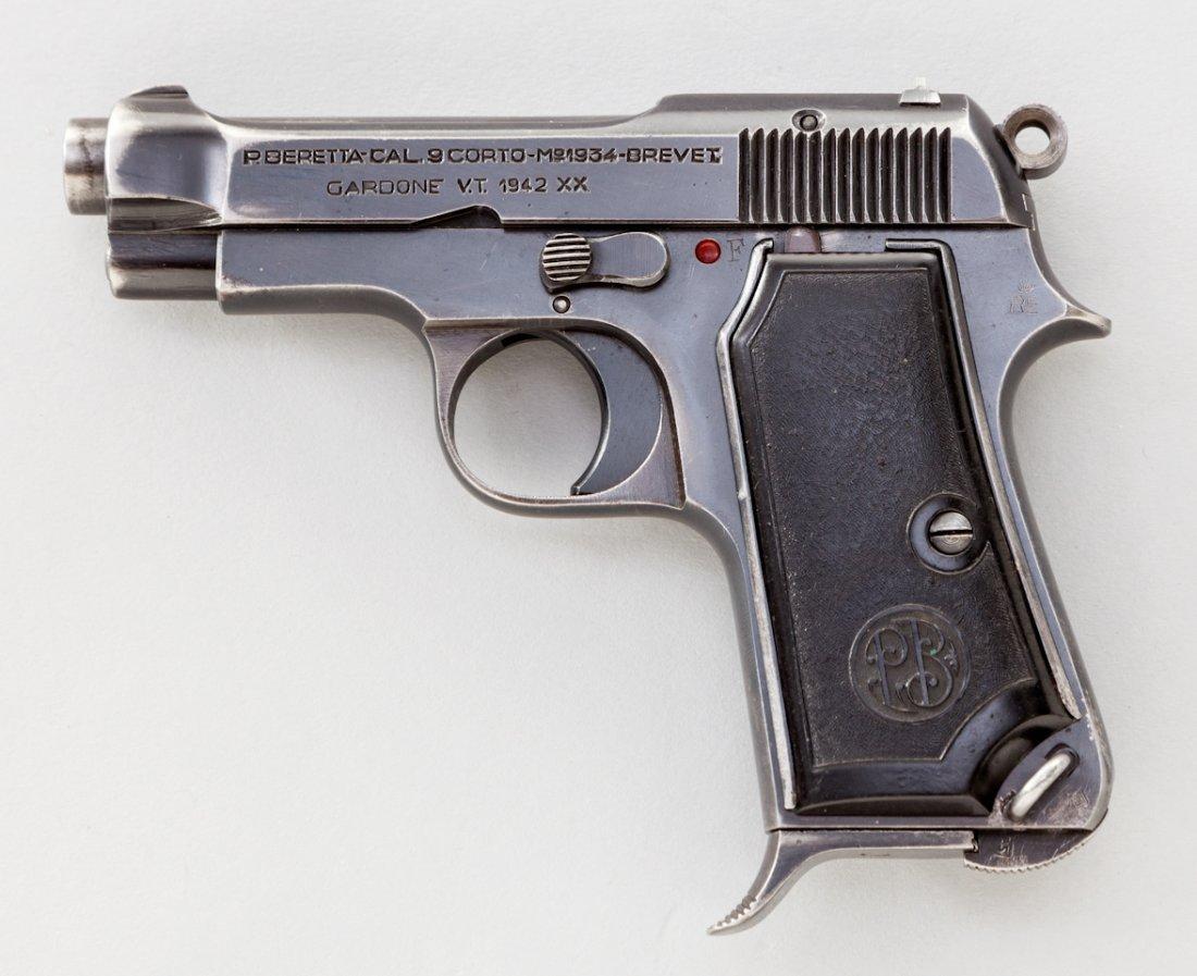 763: Beretta Model 1934 Semi-Automatic Pistol