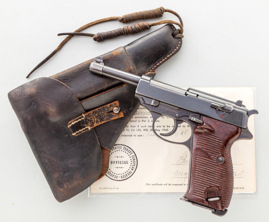 804: WWII Bring-Back Mauser P-38 Semi-Automatic Pistol