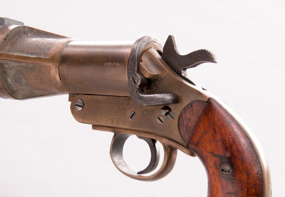 828: British Schermuly's Line-Throwing Pistol - 3