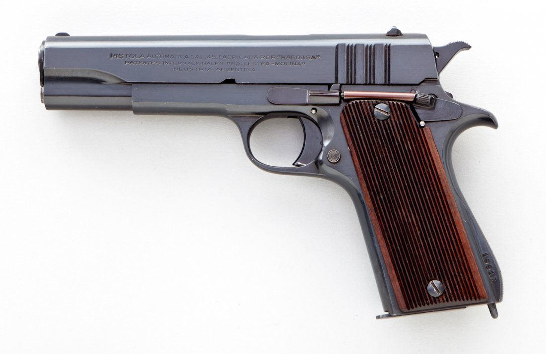 838: English Proofed Ballester-Molina Semi-Auto Pistol