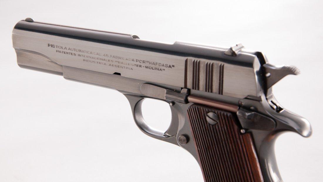 838: English Proofed Ballester-Molina Semi-Auto Pistol - 3