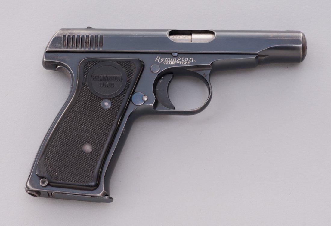 879: Remington Model 51 Semi-Automatic Pistol