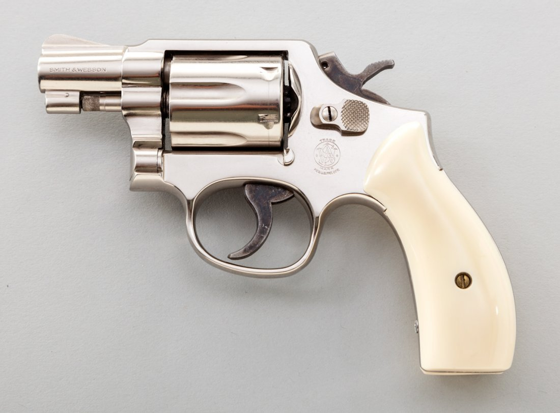 894: Smith & Wesson Model 12-3 Airweight DA Revolver