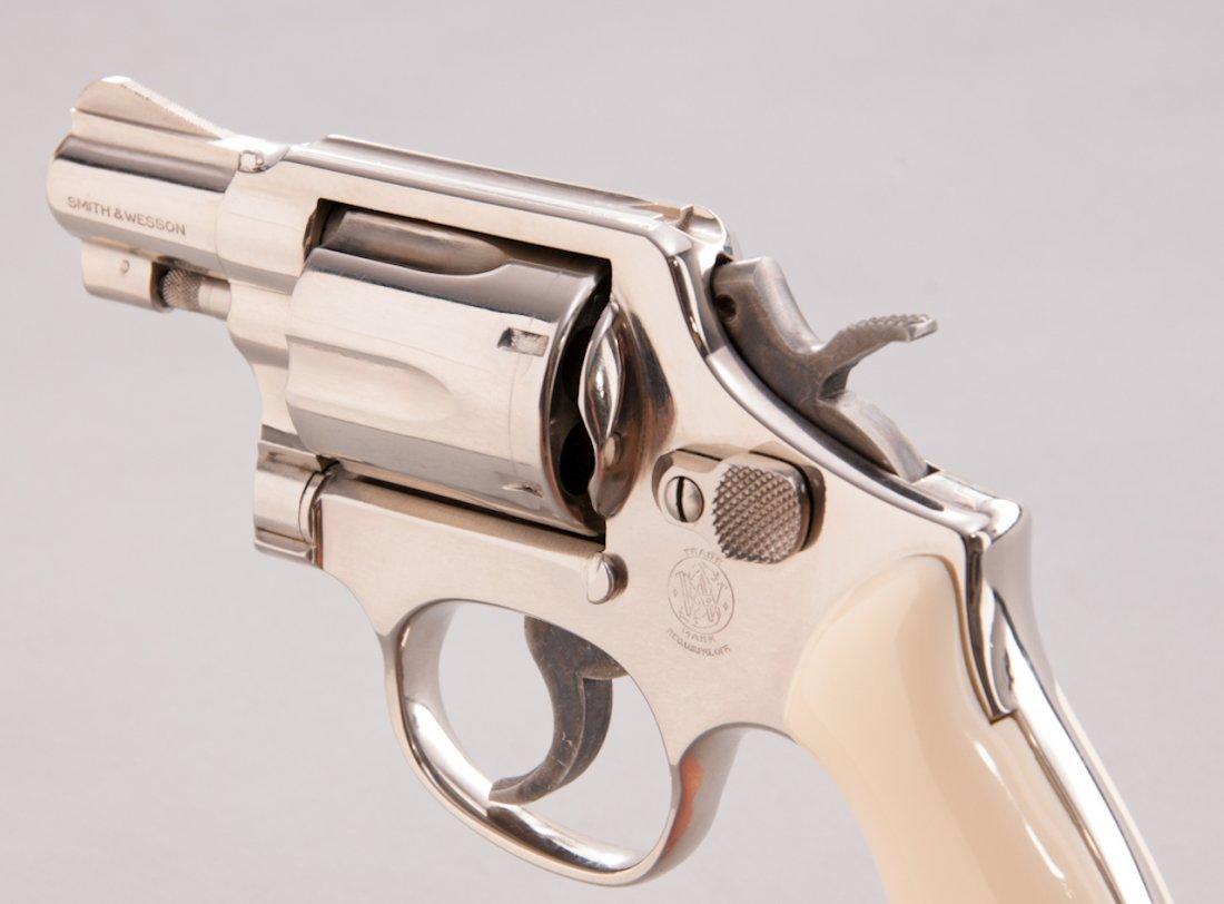 894: Smith & Wesson Model 12-3 Airweight DA Revolver - 2