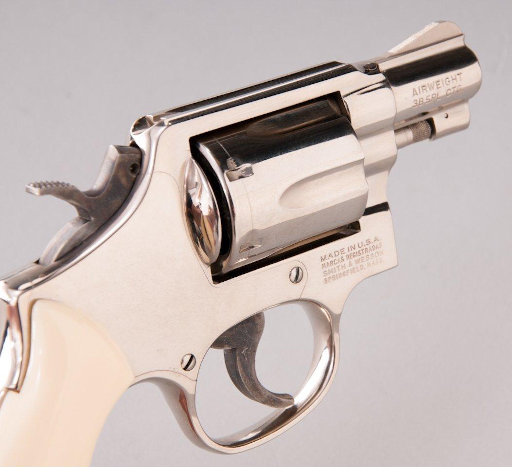894: Smith & Wesson Model 12-3 Airweight DA Revolver - 3