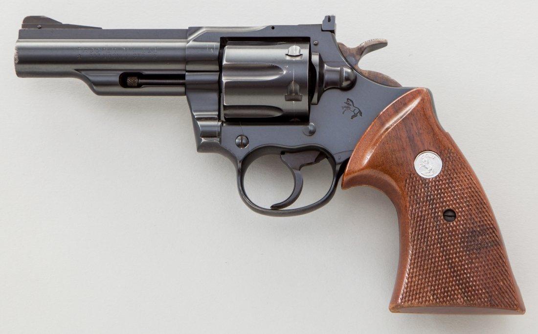 900: Colt Trooper MK III Double Action Revolver