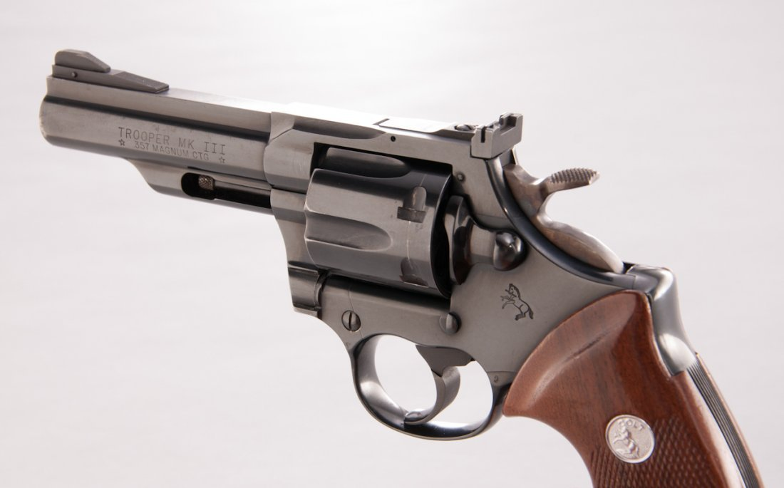 900: Colt Trooper MK III Double Action Revolver - 3