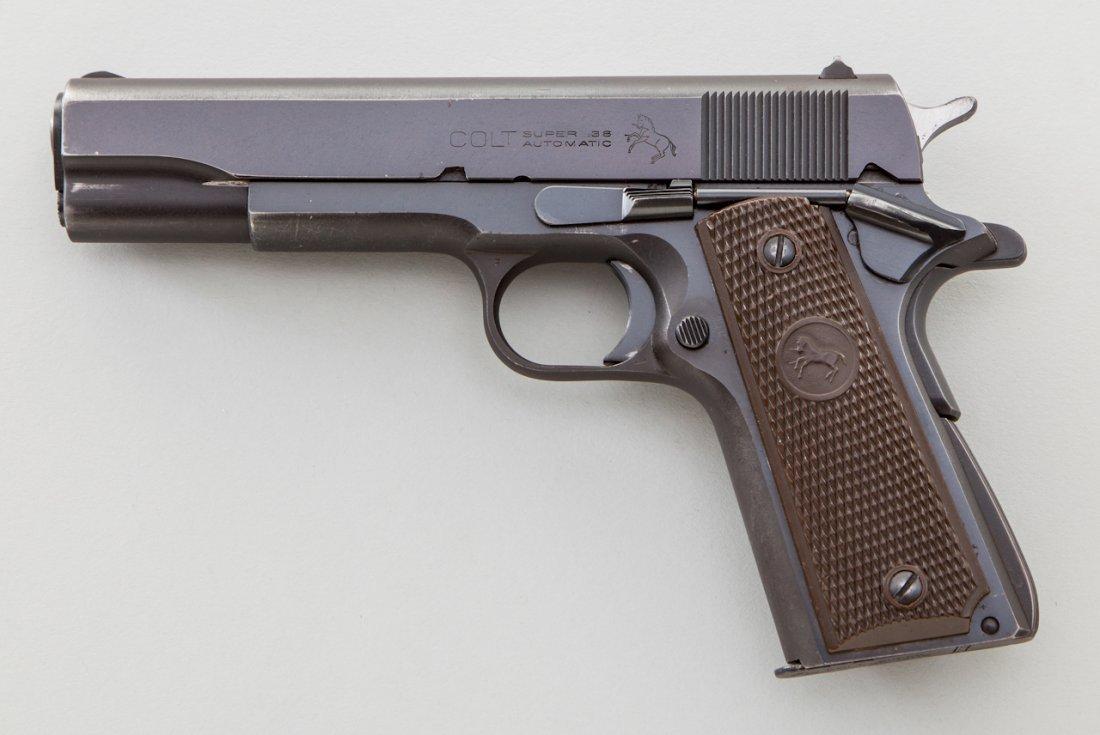 906: Post-War Colt Super 38 Semi-Automatic Pistol