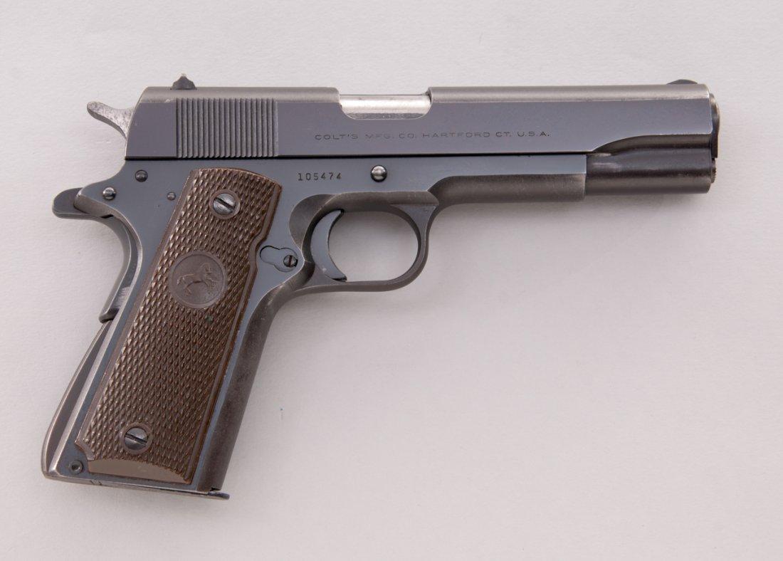 906: Post-War Colt Super 38 Semi-Automatic Pistol - 2