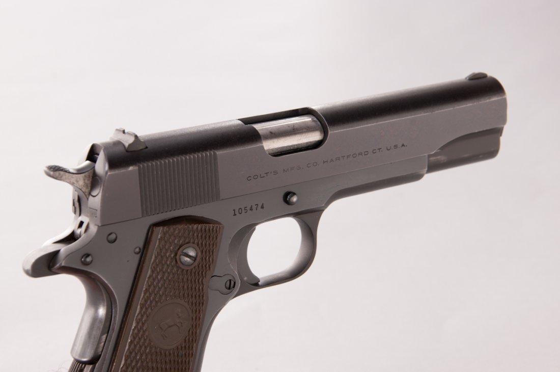 906: Post-War Colt Super 38 Semi-Automatic Pistol - 3