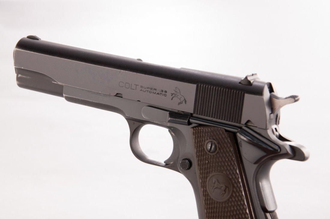 906: Post-War Colt Super 38 Semi-Automatic Pistol - 4