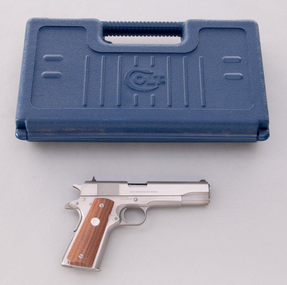 924: Colt MK IV Series 80 Government Model SA Pistol