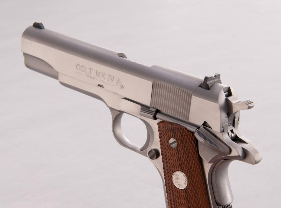 924: Colt MK IV Series 80 Government Model SA Pistol - 2