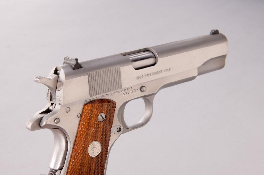 924: Colt MK IV Series 80 Government Model SA Pistol - 3