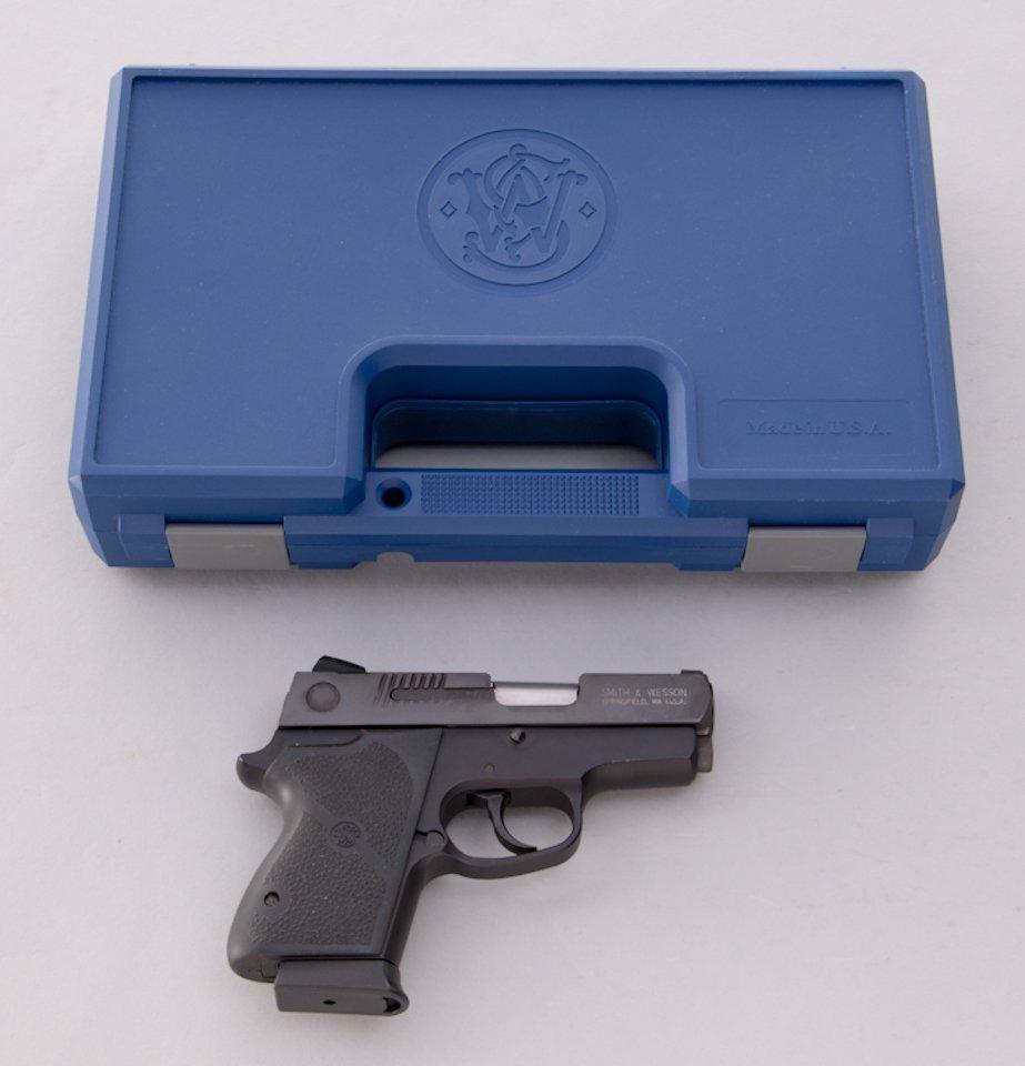 936: S&AW Model CS45 Chief's Special Semi-Auto Pistol