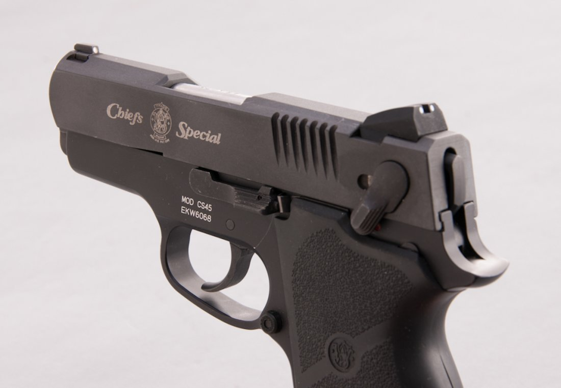 936: S&AW Model CS45 Chief's Special Semi-Auto Pistol - 2