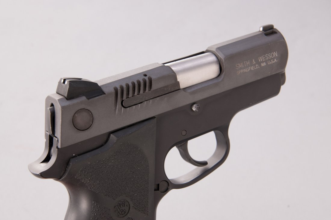 936: S&AW Model CS45 Chief's Special Semi-Auto Pistol - 3