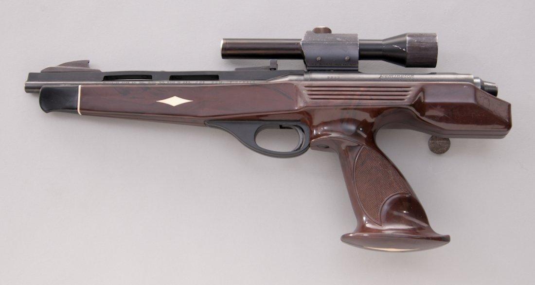 957: Remington XP-100 Single Shot Bolt Action Pistol