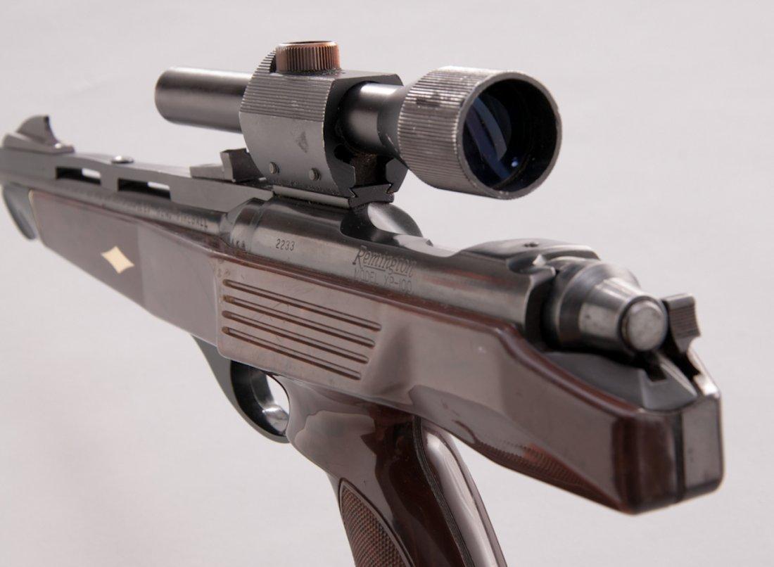 957: Remington XP-100 Single Shot Bolt Action Pistol - 2